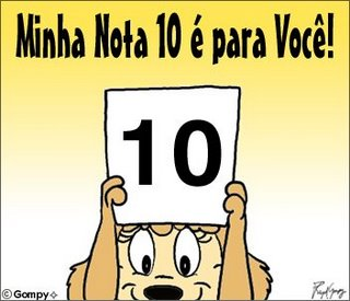 selinho nota 10