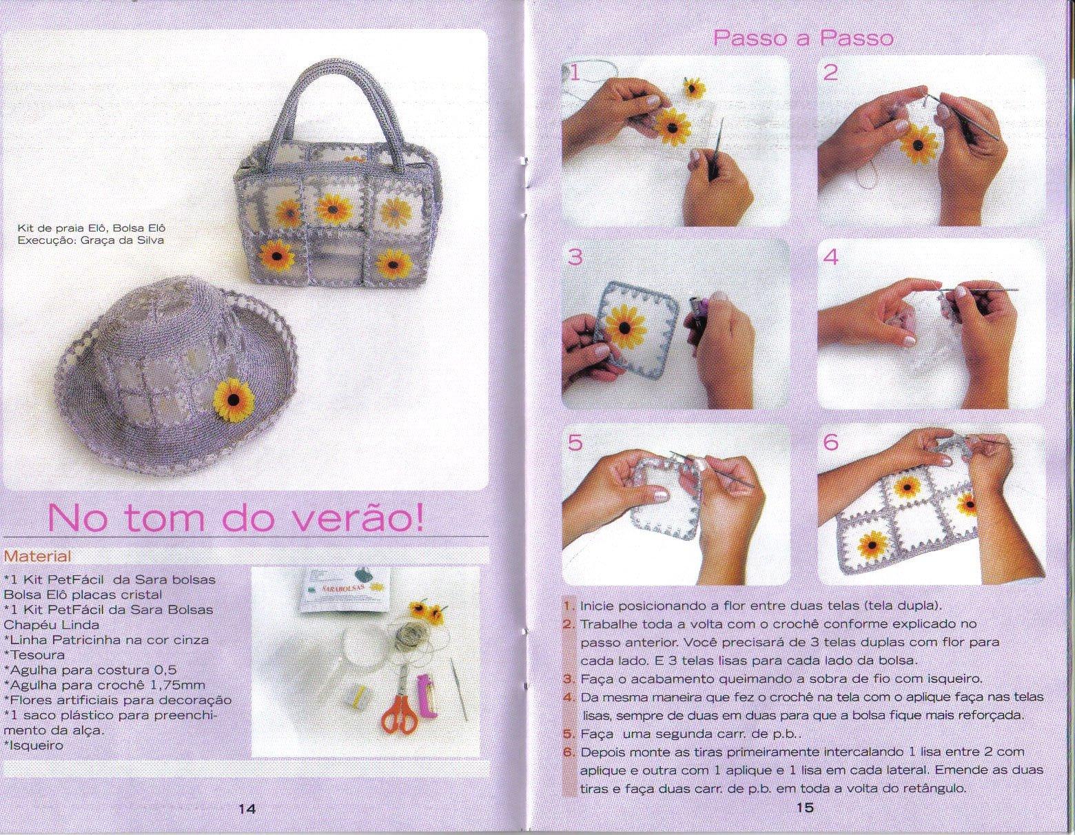 Qual O Artesanato Mais Vendido ~ Bolsa e Chapéu de Garrafa Pet u2026  Vini e Kika Blog Arte e Informaç u00e3o